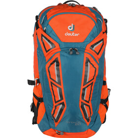 Deuter Attack 20 - Sac à dos - orange/Bleu pétrole